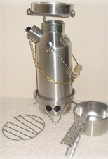 Aluminium Ghillie Kettle FULL KIT (Various Sizes Available)